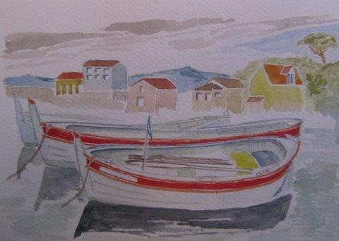 aqua-barques-nath-copie aquarelle dans 10 croisière mediterranée janvier 2012